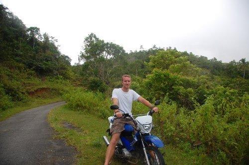 Greg Rodgers Motorbike