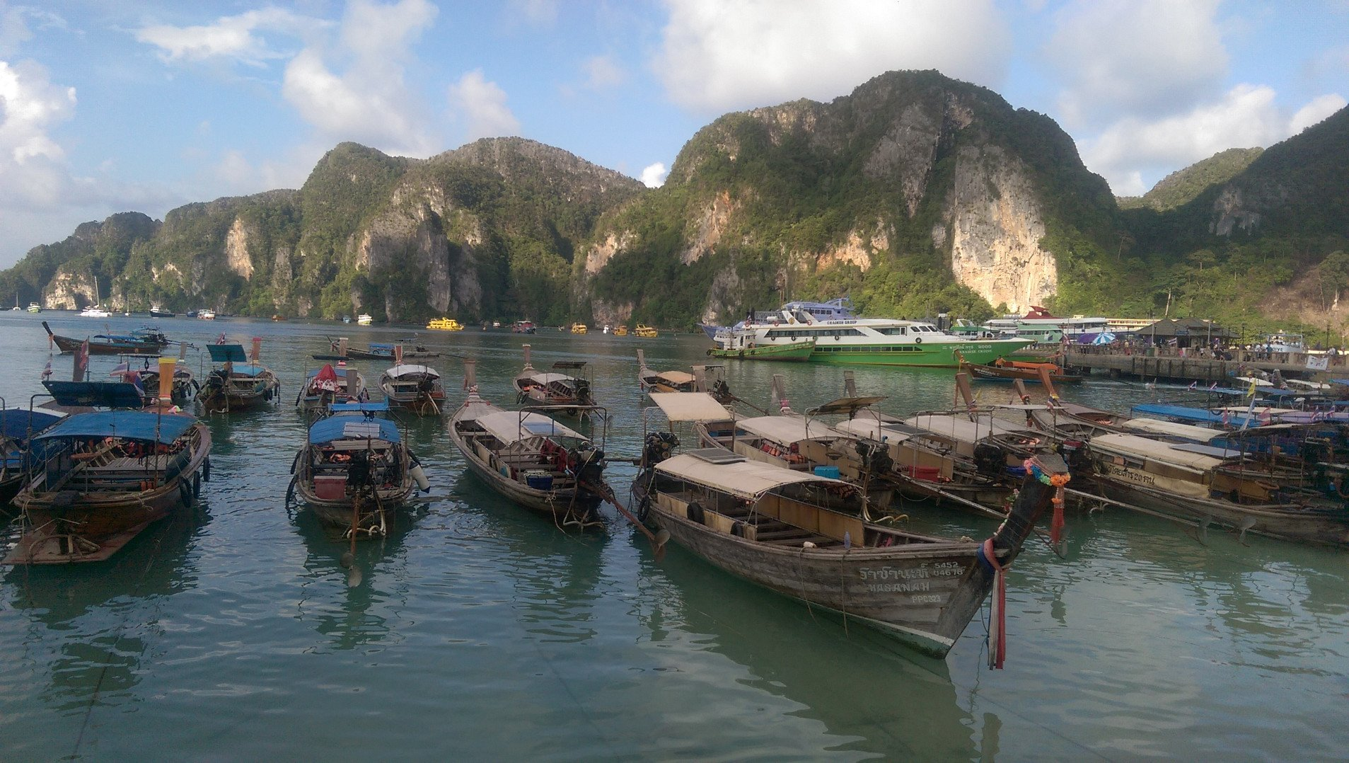 Boats in Thai Islands